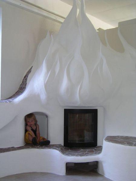 Horí ohník horí alebo inšpirácie na krb - Obrázok č. 43