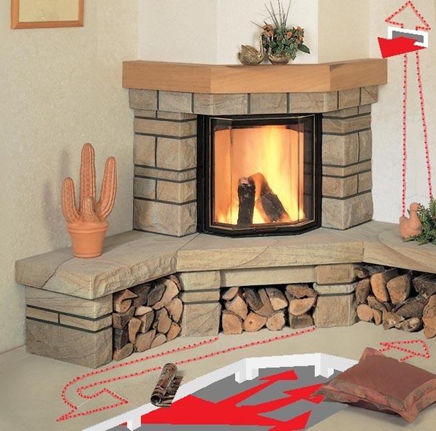 Horí ohník horí alebo inšpirácie na krb - Obrázok č. 62