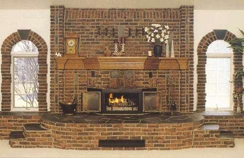 Horí ohník horí alebo inšpirácie na krb - Obrázok č. 73