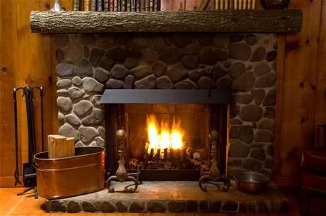 Horí ohník horí alebo inšpirácie na krb - Obrázok č. 156