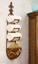 Takýto štýl mosadzného držiaku na uteráky
