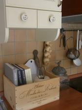 Urobím takúto bedničku na kuchárske knihy