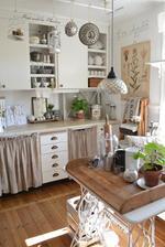 Krásne zdobená kuchyňa