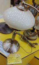 Stolná lampa mosadzná na komodu vo veľkej kúpelni - Merkury Market