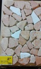 Miesto listel natrham toto ako ukončenie obkladu v kúpelni - Baumac mozaika
