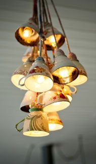 Lampa vlastnými rukami - inšpirácie zo všetkých kútov. - Obrázok č. 4