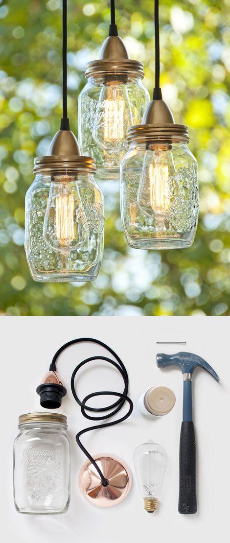 Lampa vlastnými rukami - inšpirácie zo všetkých kútov. - Obrázok č. 5