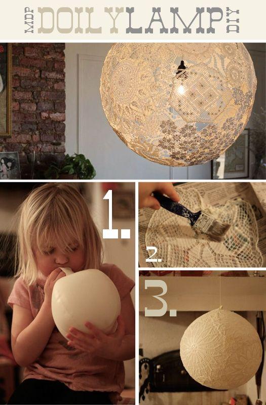 Lampa vlastnými rukami - inšpirácie zo všetkých kútov. - Obrázok č. 25