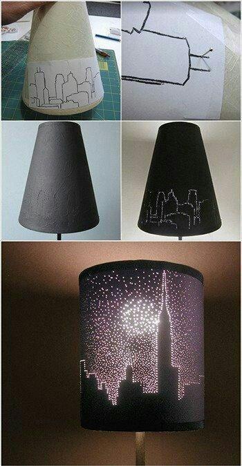 Lampa vlastnými rukami - inšpirácie zo všetkých kútov. - Obrázok č. 50