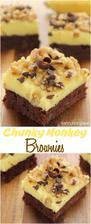 Chunky Monkey Brownies