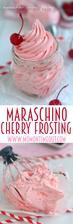 Maraschino Cherry Frosting