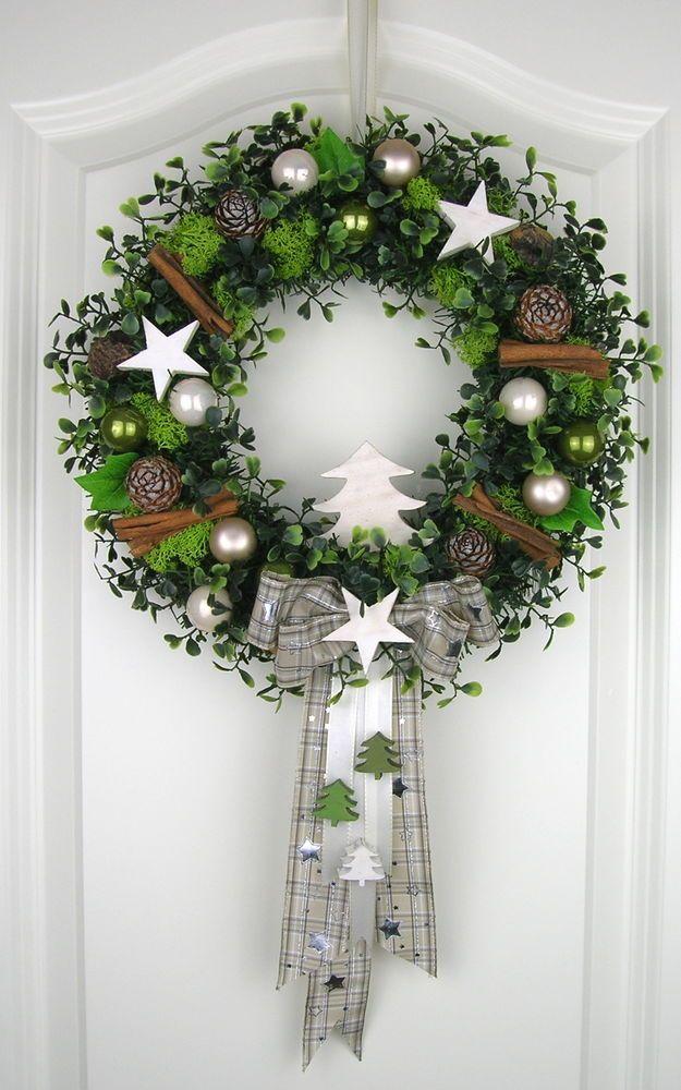 Vianočné vence na dvere - Obrázok č. 14