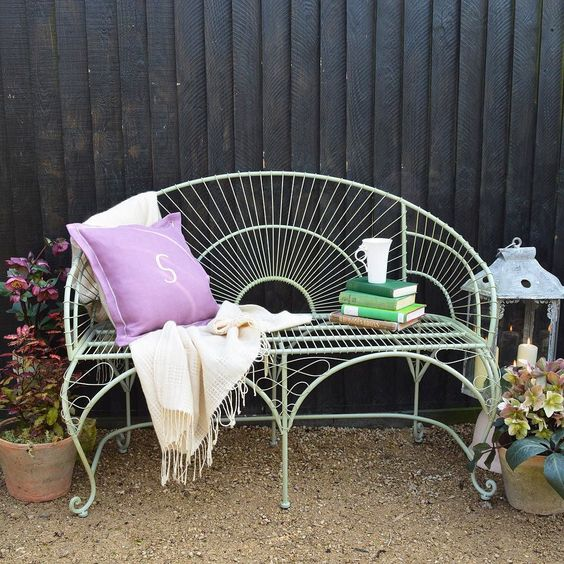 Záhradná lavička - Obrázok č. 27