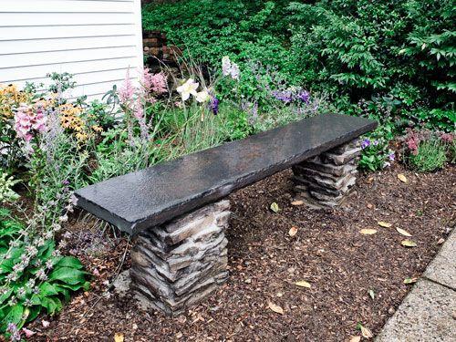 Záhradná lavička - Obrázok č. 31