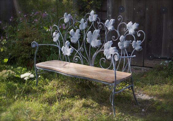 Záhradná lavička - Obrázok č. 49