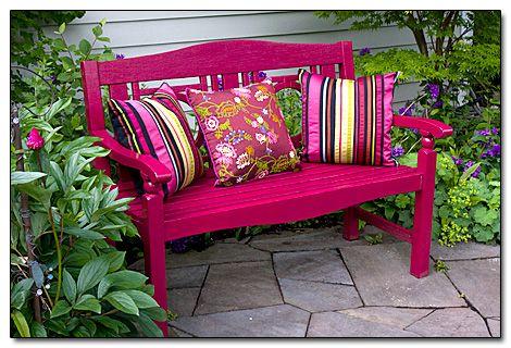 Záhradná lavička - Obrázok č. 5
