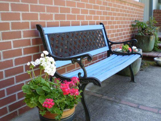 Záhradná lavička - Obrázok č. 54