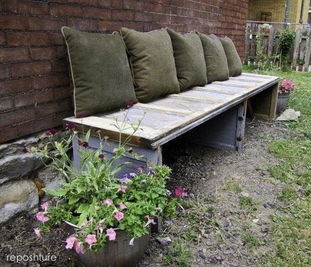 Záhradná lavička - Obrázok č. 57
