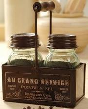 alebo tato solnicka a peprenka Sel et Poivre Vintage Salt & Pepper cruet  Amazon 15 eur