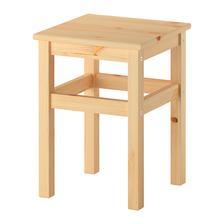stolcek ikea 10eur pojde pod stol, len bude premalovany na bielo a vrch namoreny v prirodnej farbe
