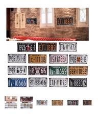 tabulky okolo zrkadla do malej kupelne 2eura wish.com Craft Art Vintage Retro Decoration Wall Decor
