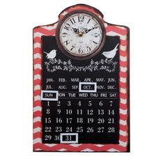 Hodiny s kalendárom OLD TOWN www.doplnkydodomu.sk 17eur nad komodu