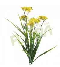 na komodu pojde kvetinac velky s lucnymi kvetmi:  achilea florasystem 1,2eur