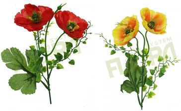 na komodu pojde kvetinac velky s lucnymi kvetmi: dive maky florasystem cena 0.26eur