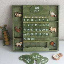 mozno na stenu takyto kalendar z ebay