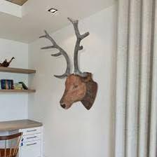 nad krb jelen  Nástenná dekorácia, jelenia hlava s realistickým vzhľadom 40eur vidalxl