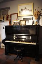 nas tmavy klavir pojde do obyvacky