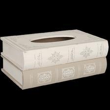 obal na vytahovacie servitky Box na servítky KNIHY www.doplnkydodomu.sk 17eur