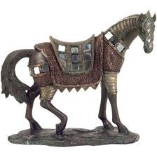 dekoracia soška kôň na podstavci bronz 20cm 14eur www.darcekyonline.sk