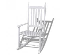 moja spalna: hojdacie kreslo biele, zakrívené sedadlo 75eur vidaxl