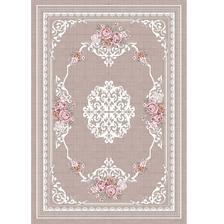 moja spalna: koberec budem vyberat z tychto favoritov - koberec  svetlohnedý vzor kvety, 120 krat 180, SEDEF kondela 36eur