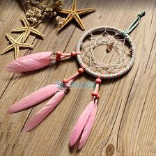 moja spalna: lapac snov Pink Feather Dream Catcher Car ebay.com 3eura