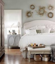 do mojej spalne: nad postel vence