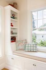 Do mojej spalne: windows sedenie otocenie kniznice ku sedeniu