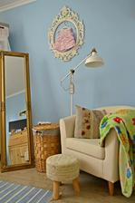 V mojej mega romantickej spalni - stojate zrkadlo bola podmienka cislo jedna :) :) :)