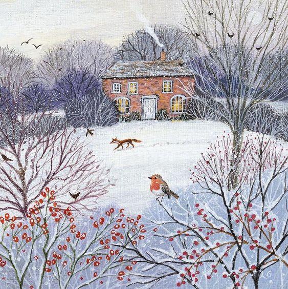 Zimné obrázky na výzdobu (z internetu) - Obrázok č. 112