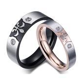snubní prsteny chir. ocel VÝPRODEJ  Doprava zdarma,