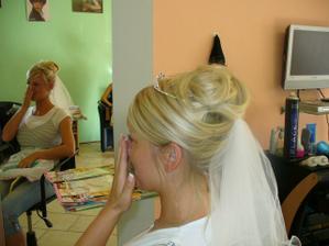 zkouška vlasů