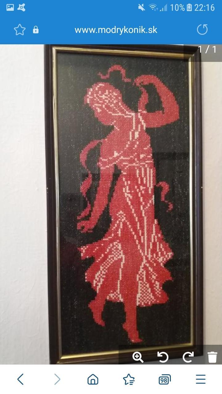 cerveno-cierny obraz - Obrázok č. 1