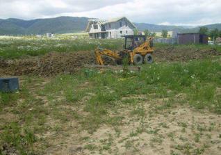 kopanie základov 16.6.2009