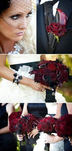 Gothic wedding and Black&white wedding - Obrázok č. 44