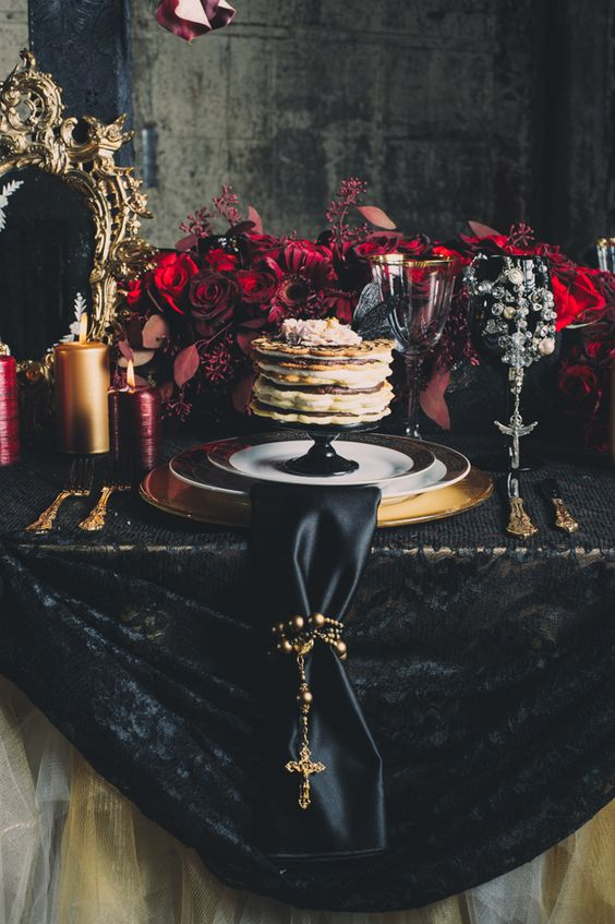 Gothic wedding and Black&white wedding - Obrázok č. 90