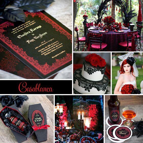 Gothic wedding and Black&white wedding - Obrázok č. 97