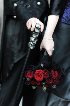 Gothic wedding and Black&white wedding - Obrázok č. 29
