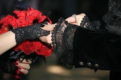 Gothic wedding and Black&white wedding - Obrázok č. 40