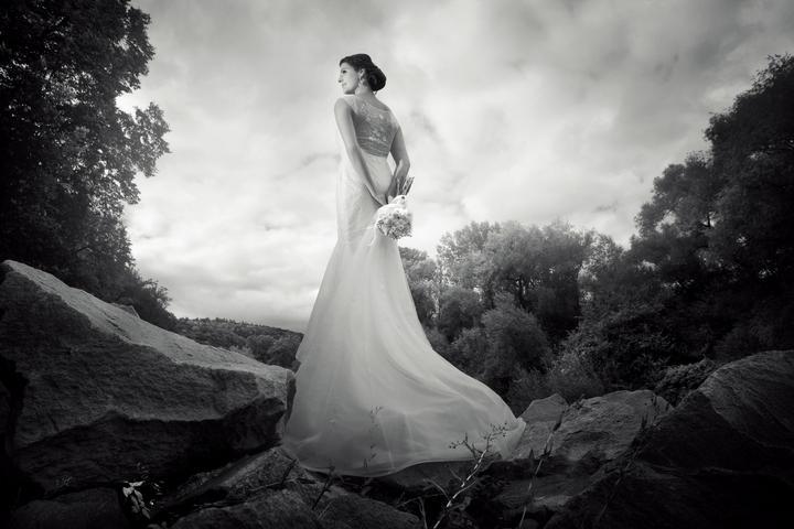 Black&white wedding photos - Obrázok č. 20